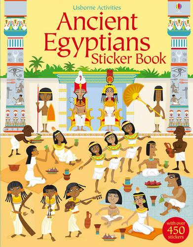 Ancient Egyptians Sticker Book - Young History Sticker Books (Paperback)