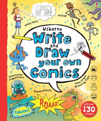 Write and Draw Your Own Comics (Hardback)