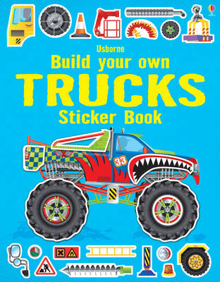 Build Your Own Trucks Sticker Book - Build Your Own (Paperback)