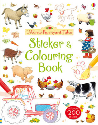 Farmyard Tales Sticker and Colouring Book - Farmyard Tales (Paperback)
