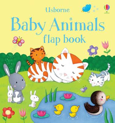 Baby Animals Flap Book - Flap Books (Board book)