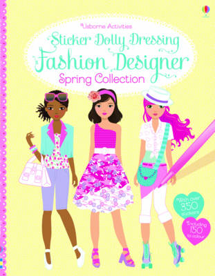 Sticker Dolly Dressing Fashion Designer Spring Collection - Sticker Dolly Dressing (Paperback)