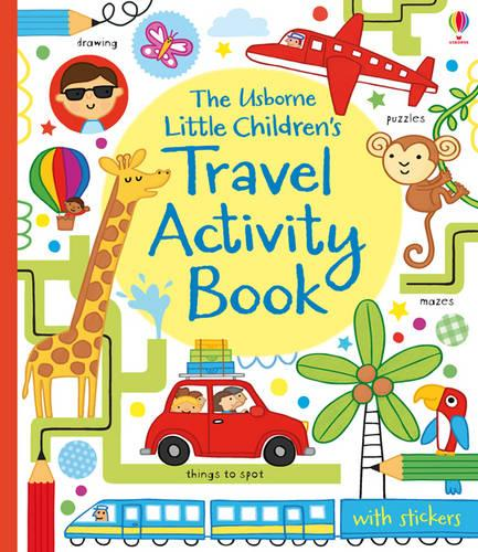 Little Children's Travel Activity Book (Paperback)