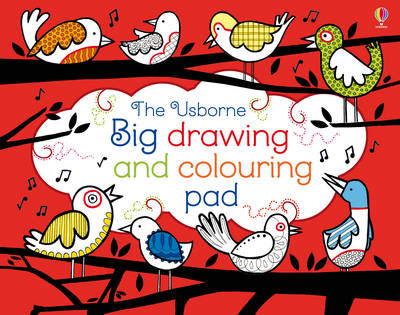 Big Drawing and Colouring pad (Paperback)