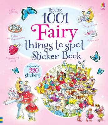 1001 Fairy Things to Spot Sticker Book - 1001 Things to Spot Sticker Books (Paperback)