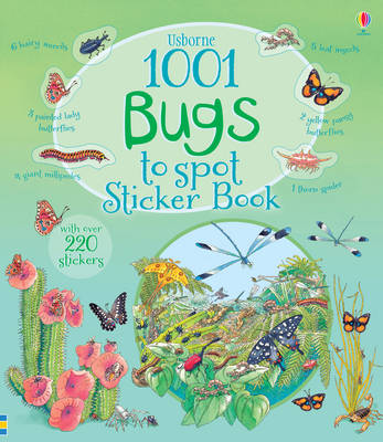 1001 Bugs to Spot Sticker Book - 1001 Things to Spot Sticker Books (Paperback)