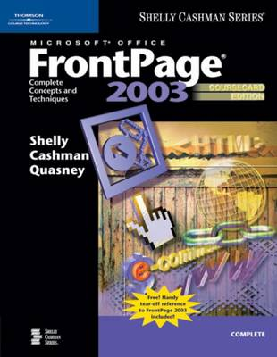 Microsoft Office FrontPage 2003: Complete Concepts and Techniques, (Paperback)