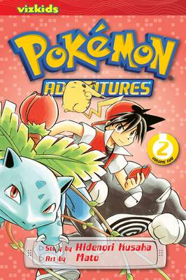Pokemon Adventures: 02 (Paperback)