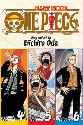 One Piece: East Blue 4-5-6 - One Piece 2 (Paperback)