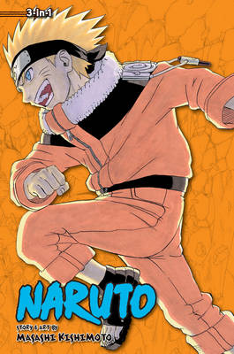 Naruto: 3-in-1 Edition 06 (Paperback)