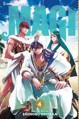 Magi: The Labyrinth of Magic - Magi 4 (Paperback)