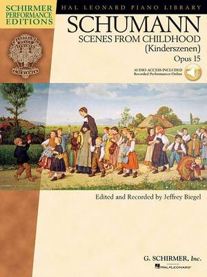 Robert Schumann: Scenes from Childhood Op.15 (Paperback)
