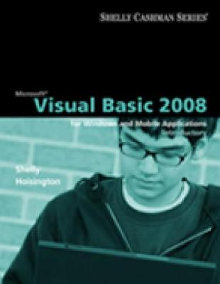 Microsoft Visual Basic 2008: Introductory Concepts and Techniques (Paperback)