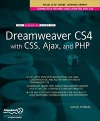 Essential Guide to Dreamweaver CS4 with CSS, Ajax, and PHP (Paperback)