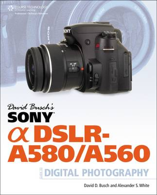 David Busch's Sony Alpha DSLR-A580/A560 Guide to Digital Photography (Paperback)