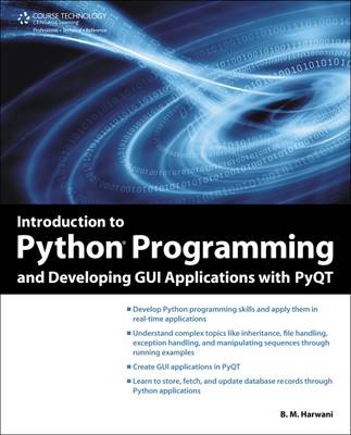 Cover Introduction to Python Programming and Developing GUI Applications with PyQT