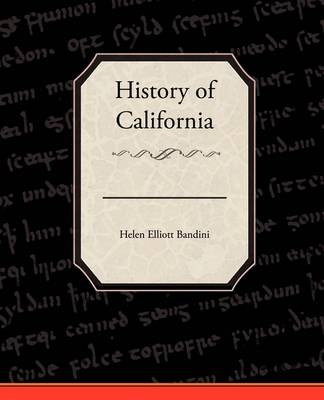 History of California (Paperback)