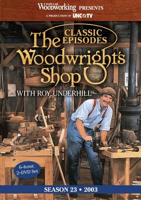 Classic Episodes, The Woodwright's Shop (Season 23) (DVD video)