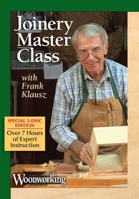 Joinery Master Class with Frank Klausz (DVD video)