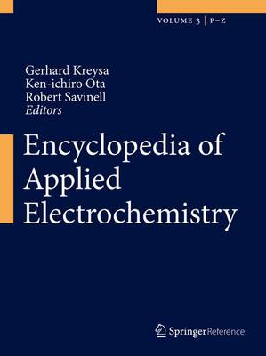 Encyclopedia of Applied Electrochemistry (Mixed media product)