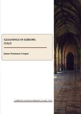 Cover Gleanings in Europe: Italy