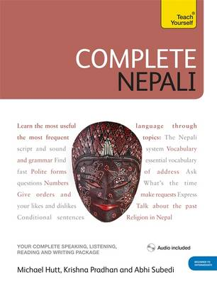 Complete Nepali Beginner to Intermediate Course: (Book and Audio Support) Learn to Read, Write, Speak and Understand a New Language with Teach Yourself (Mixed media product)