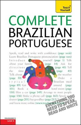 Complete Brazilian Portuguese Beginner to Intermediate Course: Learn to Read, Write, Speak and Understand a New Language with Teach Yourself (Paperback)