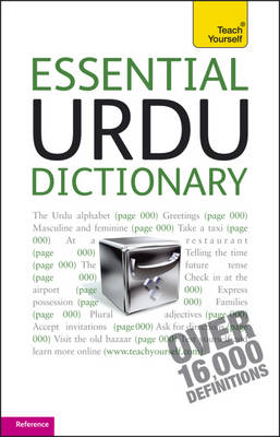Essential Urdu Dictionary: Teach Yourself - Teach Yourself Dictionaries (Paperback)