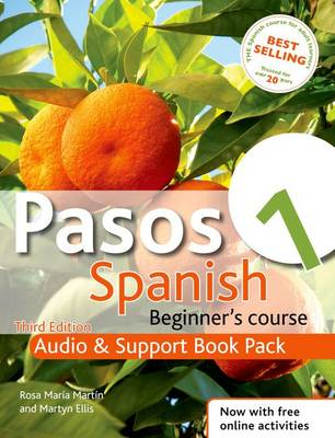 Pasos 1 Spanish Beginner's Course: Audio and Support Book Pack: Audio and Support Book Pack (CD-Audio)