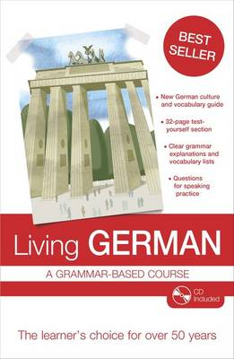 Living German: A Grammar-Based Course (Mixed media product)