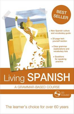 Living Spanish: A Grammar-based Course (Mixed media product)