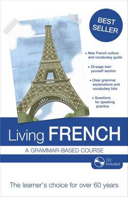 Living French: A Grammar-based Course (Mixed media product)