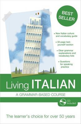 Living Italian: A Grammar-based Course (Mixed media product)