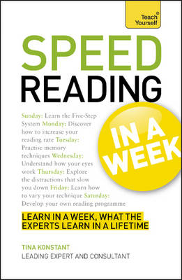 Speed Reading in a Week - Teach Yourself (Paperback)
