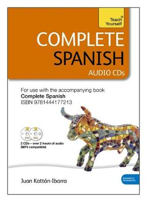 Complete Spanish (Learn Spanish with Teach Yourself): Audio Support (CD-Audio)