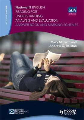 National 5 English: Reading for Understanding, Analysis and Evaluation Answer Book and Marking Schemes (Paperback)