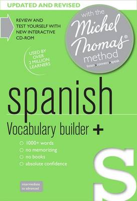 Spanish Vocabulary Builder+ (Learn Spanish with the Michel Thomas Method) (CD-Audio)