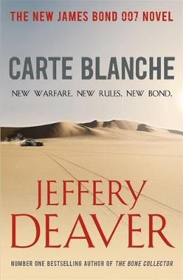 Carte Blanche: The New James Bond Novel (Paperback)
