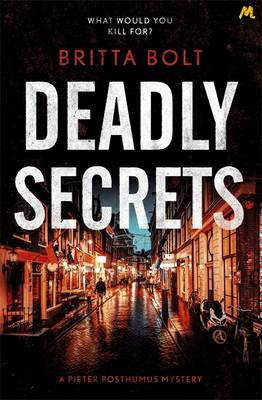 Cover Deadly Secrets - Posthumus Mystery 3
