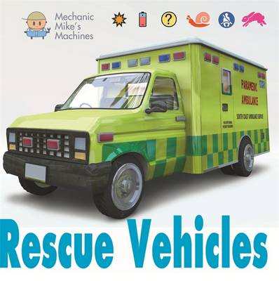 Rescue Vehicles - Mechanic Mike's Machines 6 (Hardback)