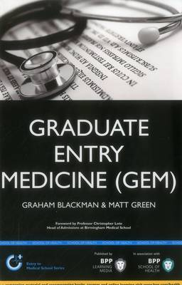 Graduate Entry Medicine (GEM): Study Text - Entry to Medical School Series (Paperback)