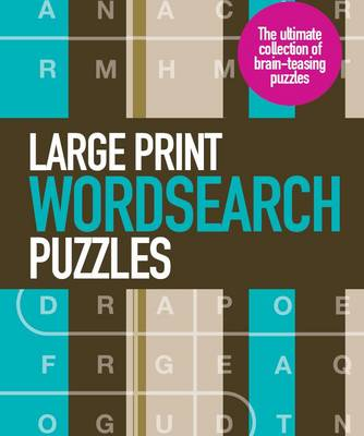 Large Print Wordsearch Puzzles (Spiral bound)