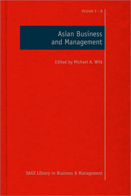 Asian Business and Management - Sage Library in Business and Management (Hardback)