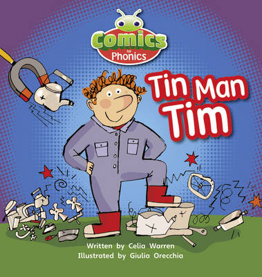 Comics for Phonics: Set 01-02 Pink A: Tin-Man Tim - Bug Club (Paperback)