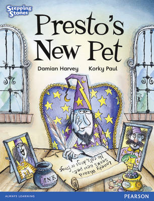 Stepping Stones: Presto's New Pet - Blue Level (Paperback)