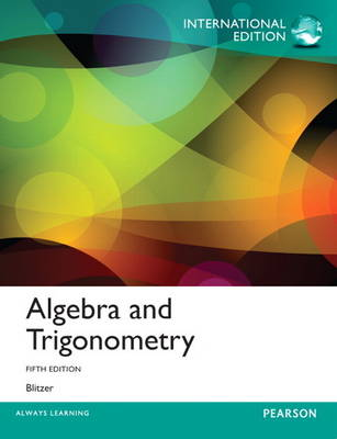 Algebra and Trigonometry, Plus MyMathLab with Pearson Etext (Mixed media product)