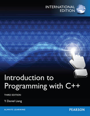 Introduction to Programming with C++, Plus MyProgrammingLab with Pearson Etext (Mixed media product)