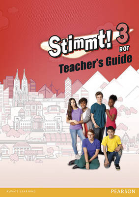 Rot: Teacher Guide - Stimmt! 3 (Spiral bound)