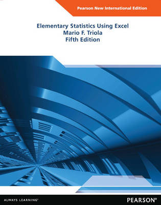 Elementary Statistics Using Excel Plus MyStatLab without eText (Mixed media product)