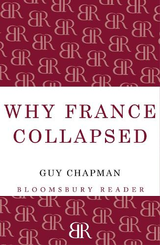 Why France Collapsed (Paperback)